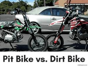 Pit Bike vs. Dirt Bike