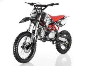 Apollo DB-X18 125cc Dirt Bike Black Review