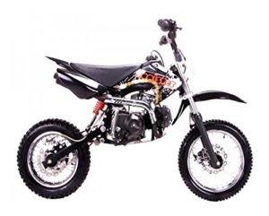 Dirt bike 125cc Manual Clutch Review